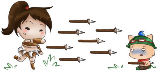 Nidalee spears all day, 'er day.