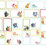 Printable Pokemon Holiday Gift Tags