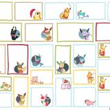 Printable Pokemon Holiday Gift Tags
