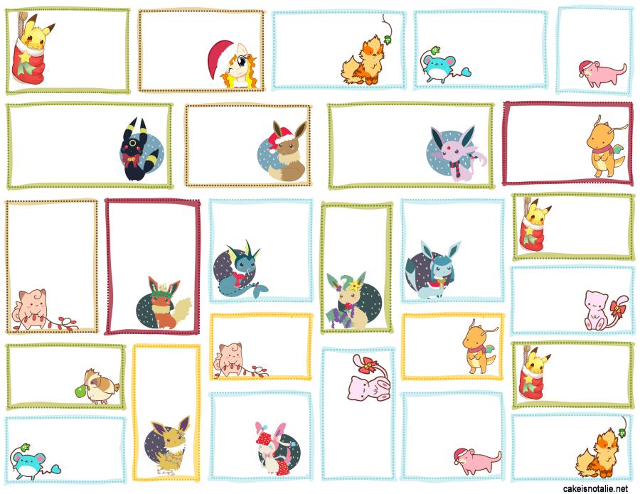 PokemonGiftTags2016