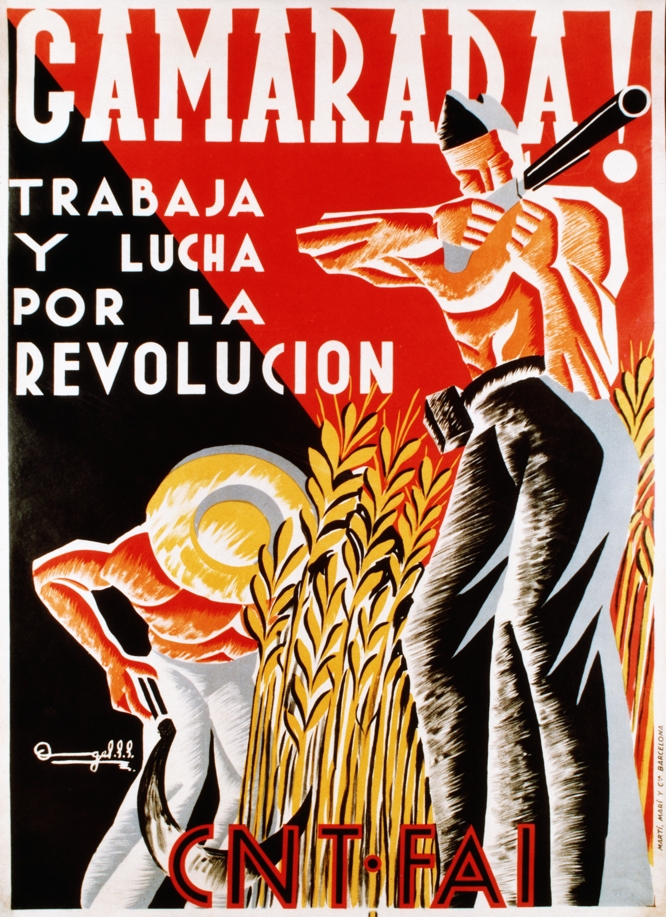 Poster In Spanish Socialist Poster During The Spanish Civil War Cakeordeathsite