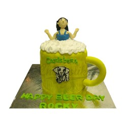 Beer Day Cake