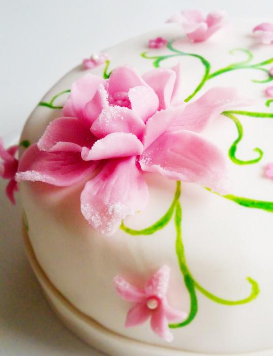 flower cake blomstertårta