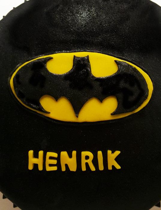 Batman cake - batmantårta