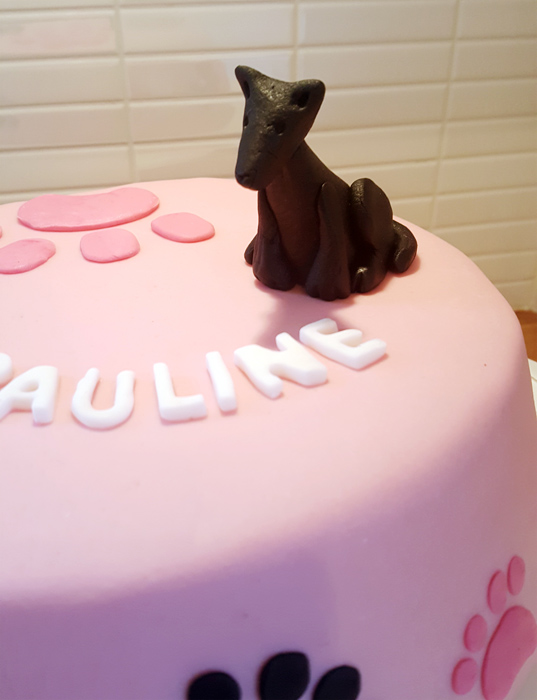 Dog cake - hundtårtan