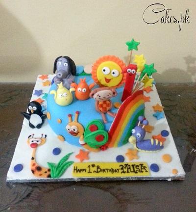 first birthday cake Cakespk