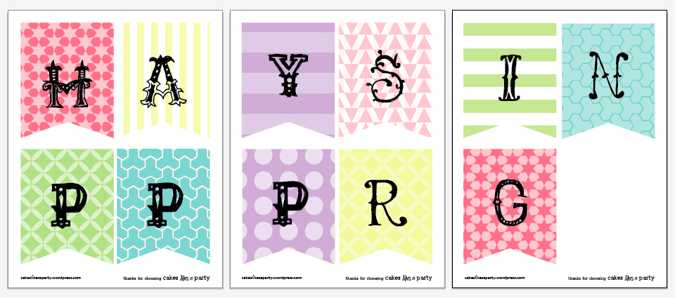 Free And Awesome  Happy Easter  Happy Spring Printable Banners