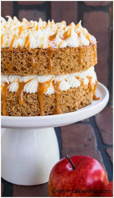 Old Fashioned Applesauce Cake - CakeWhiz