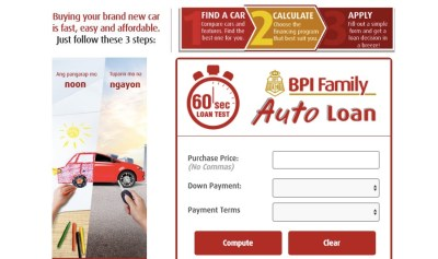 Bpi Motorcycle Loan Calculator Philippines | disrespect1st.com