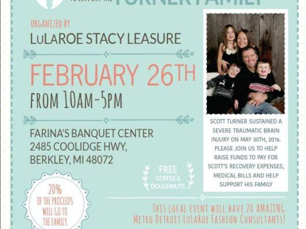Feb 26 LuLaRoe Sale this Sunday to Benefit Berkley man with brain