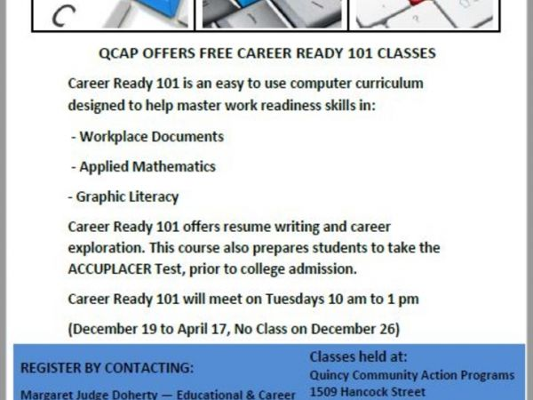 Feb 6 Career Ready 101 Classes Quincy, MA Patch - free career test