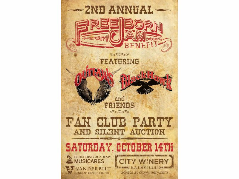 Oct 14 2nd Annual Freeborn Jam Benefit with BlackHawk  The