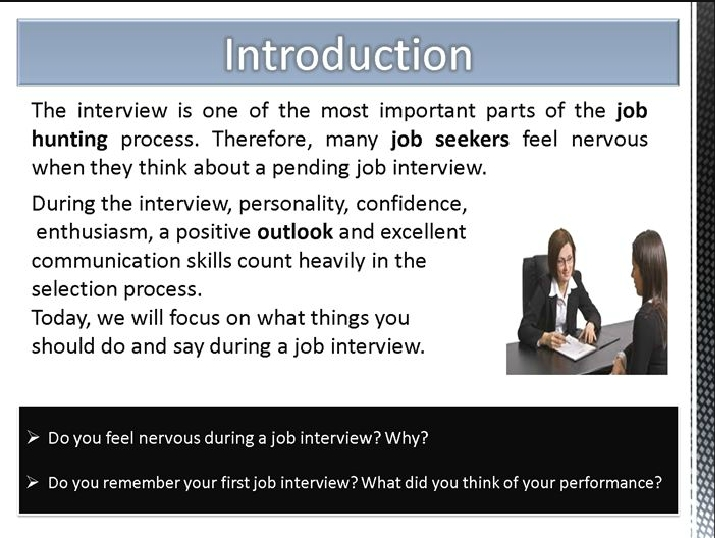 Interview Do\u0027s and Dont\u0027s 55-Minute Lesson LOI Calendar - interview dos and donts