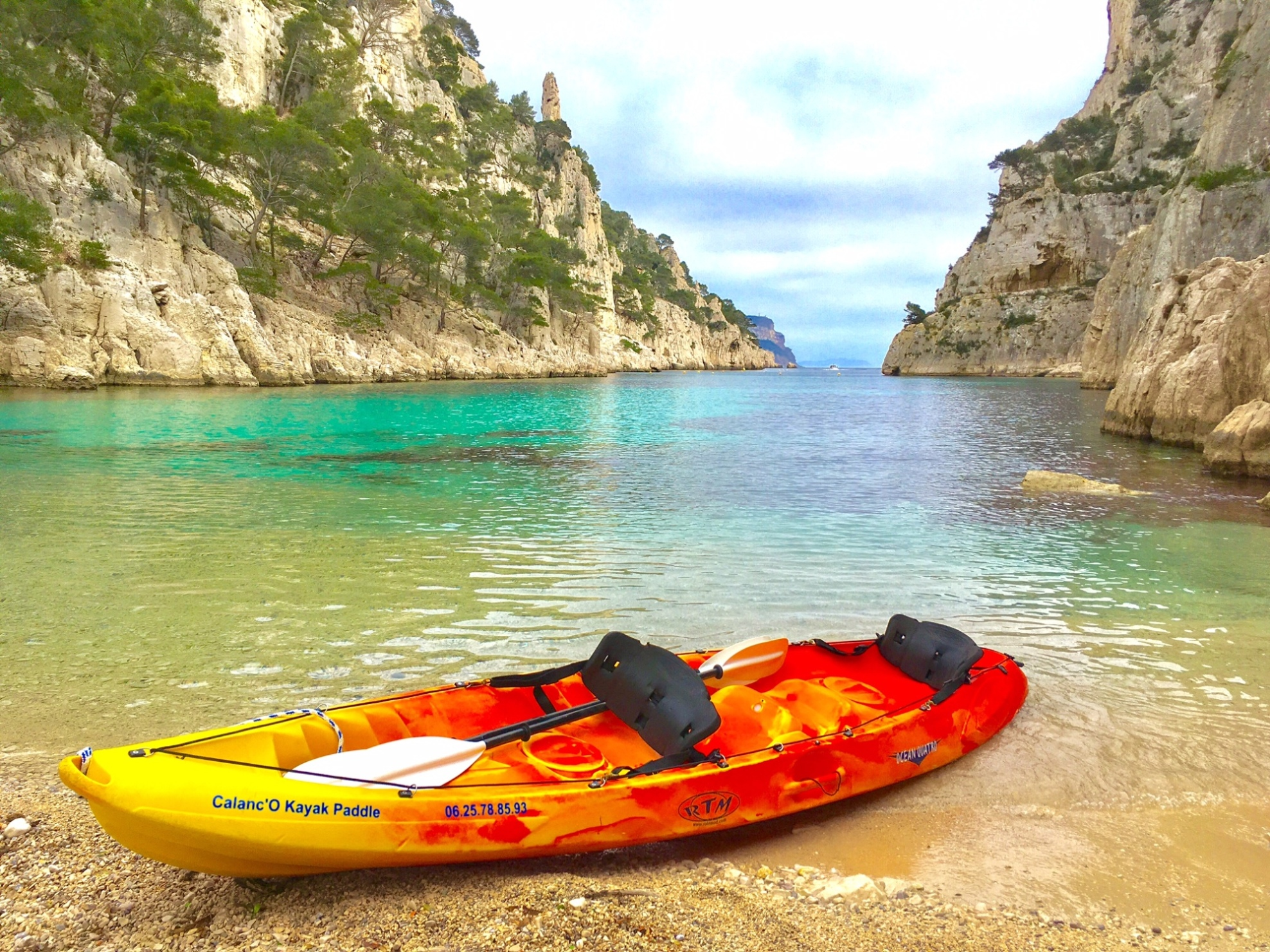 Location Canoe Cassis The Equipment Calanc O Kayak Paddle Cassis