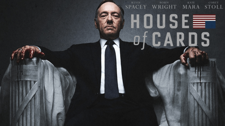 Banner da série House of Cards