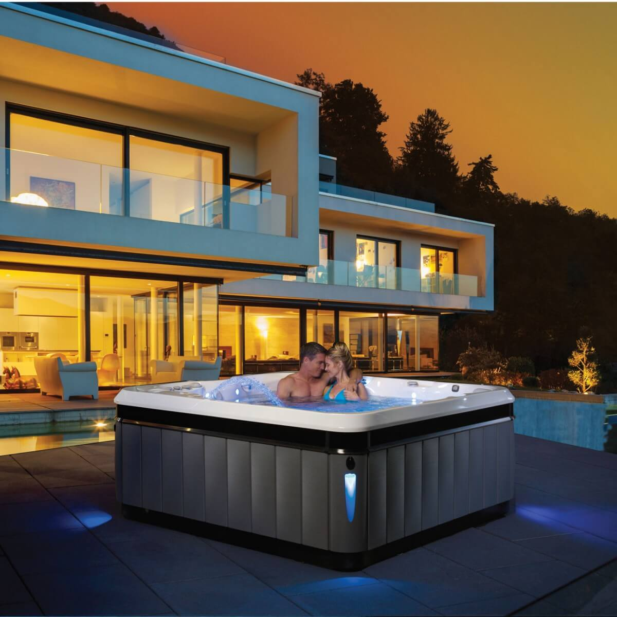 Swimming Pool Jacuzzi Edinburgh 6 Person Hot Tub Tahitian Caldera Spas Scotland