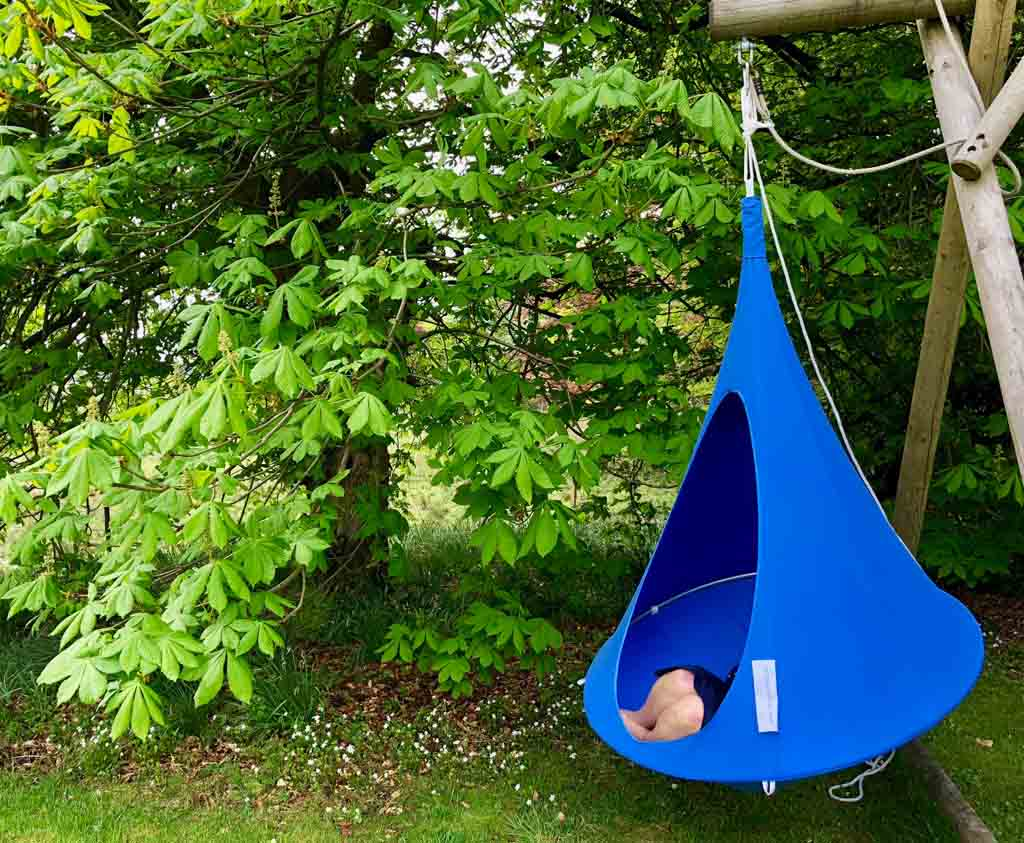 Cacoon Sky Blue Bonsai Cacoon Outdoor Play Relaxation For All Ages