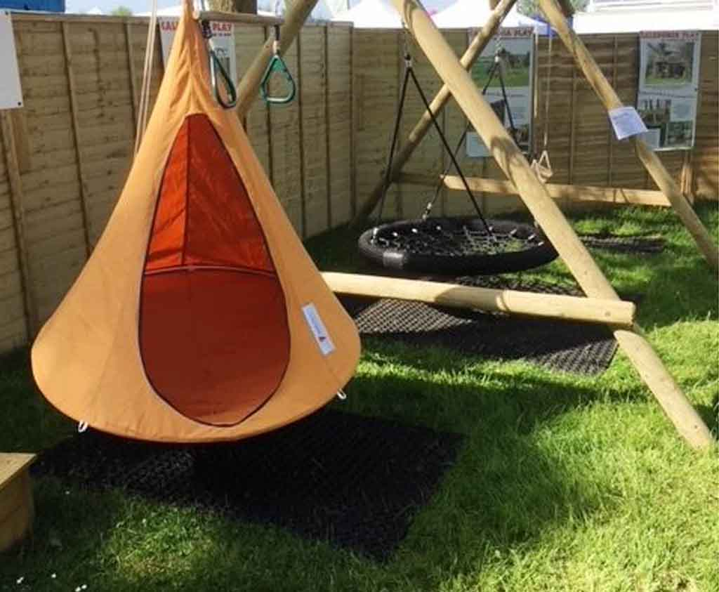 Cacoon Orange Bonsai Cacoon Outdoor Play Relaxation For All