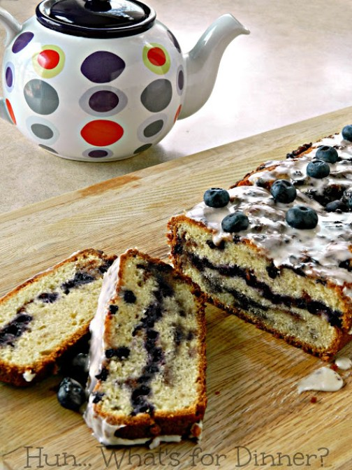 BlueberryFritterBread