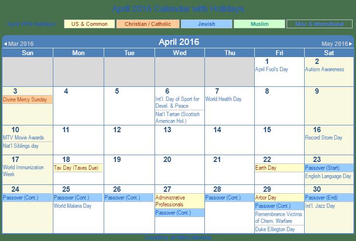 Christian Calendar April 2016 Calendar Of Christian Events In Australia Communicate Jesus Print Friendly April 2016 Us Calendar For Printing