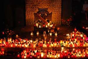 Fall Graveyard Cemetery Wallpaper All Souls Day 2018 Ecuador