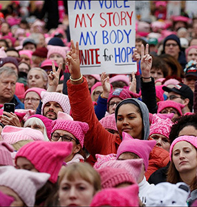 Women's March Support Democratic Women Candidates.