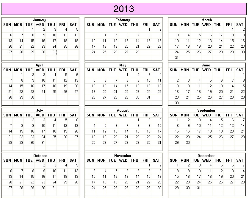 Julian Annual Calendar 2013 Julian Sands Imdb 2013 Calendar 30 Day Challenge