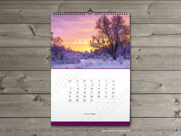 2019 Calendars and Planners Templates Yearly, monthly, weekly calendar