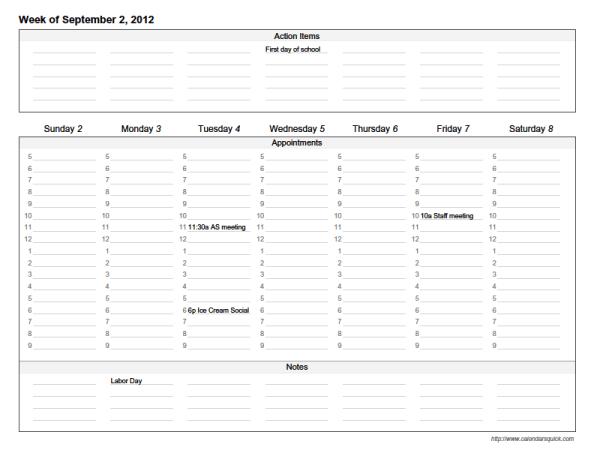 Dltks Printable Custom Calendars Section Custom Weekly For Acrobat Reader Pdf