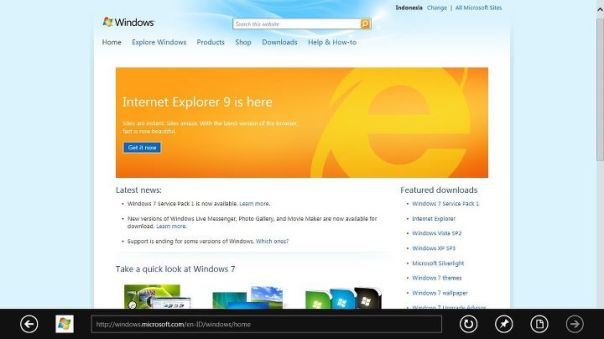 window 8 internet explorer