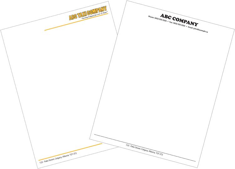 Company Letterhead Samples Pdf Company Letterhead Sample