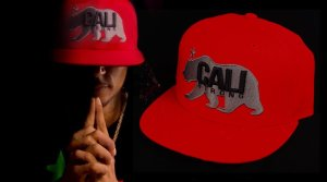 CALI Strong West Coast Flat Bill Snapback Cap