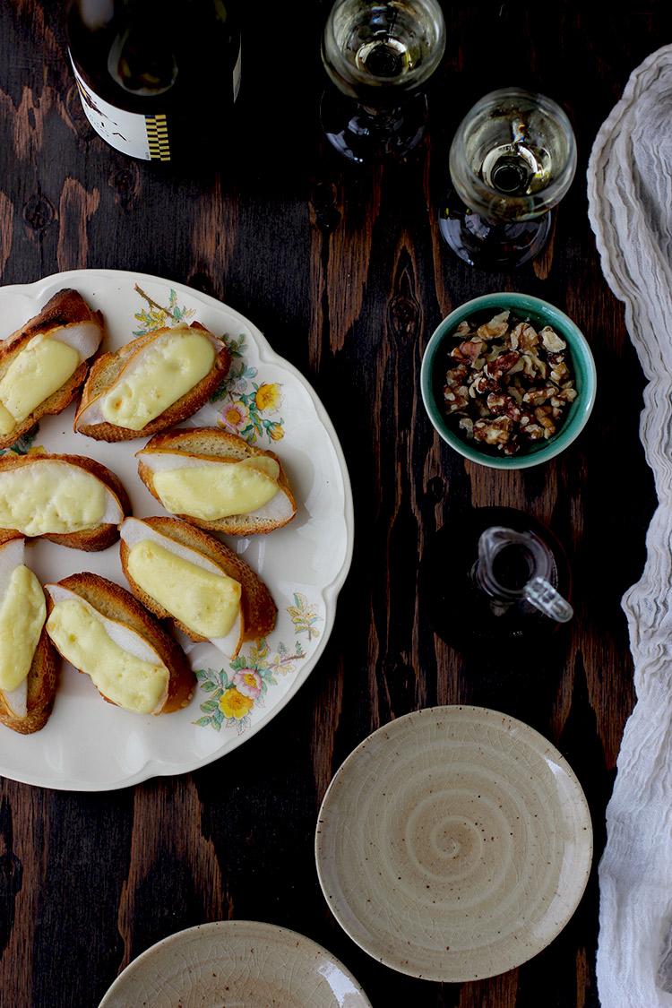 Pear-Crostini