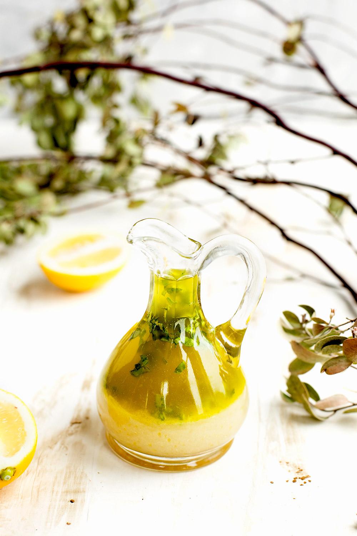 Meyer Lemon Basil Vinaigrette