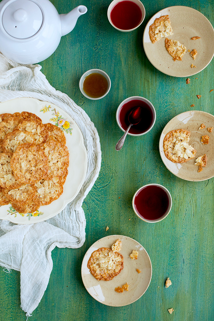 Almond-Florentine-Cookies