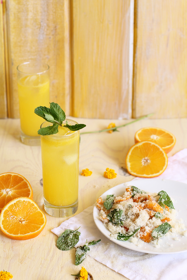Tangerine Shrub