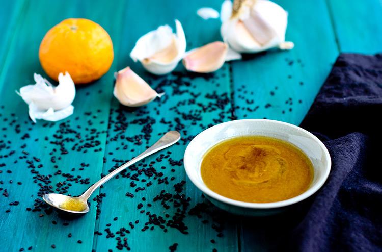 Sesame-Tangerine-Dressing