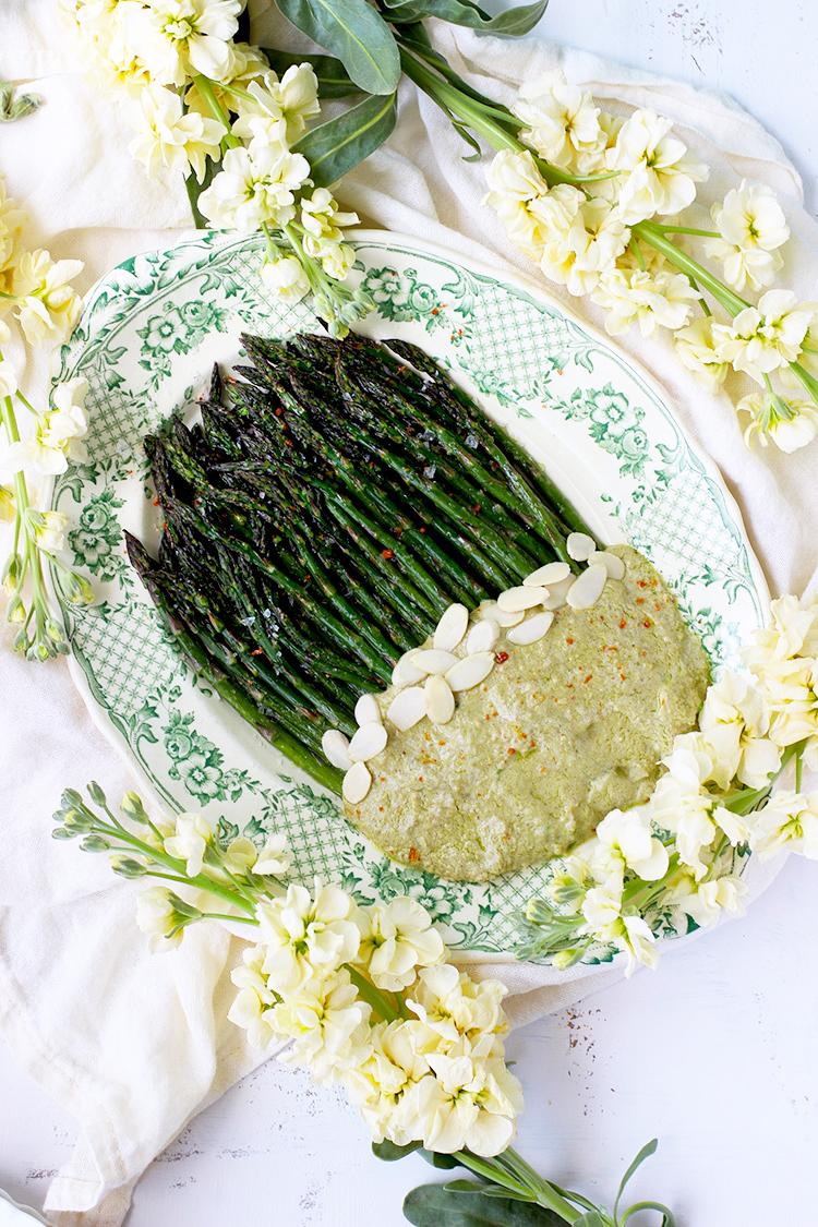 Roasted-Asparagus-with-Pea-Pesto