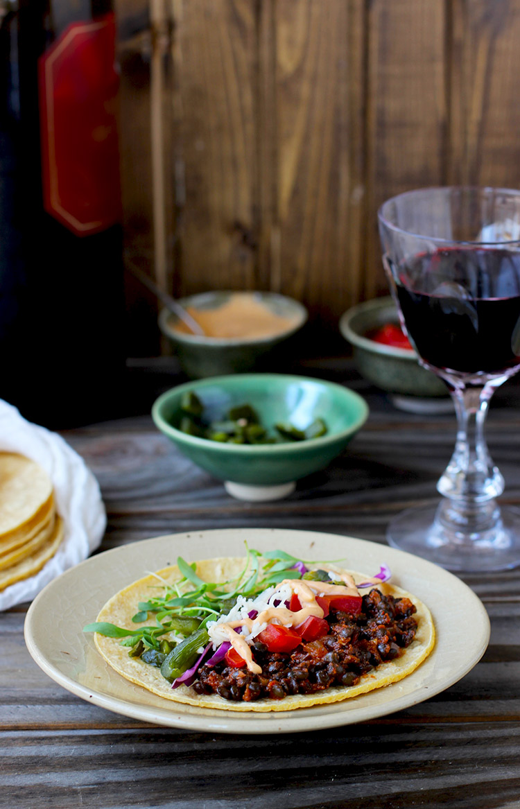 Spicy-Black-Lentils-Tacos