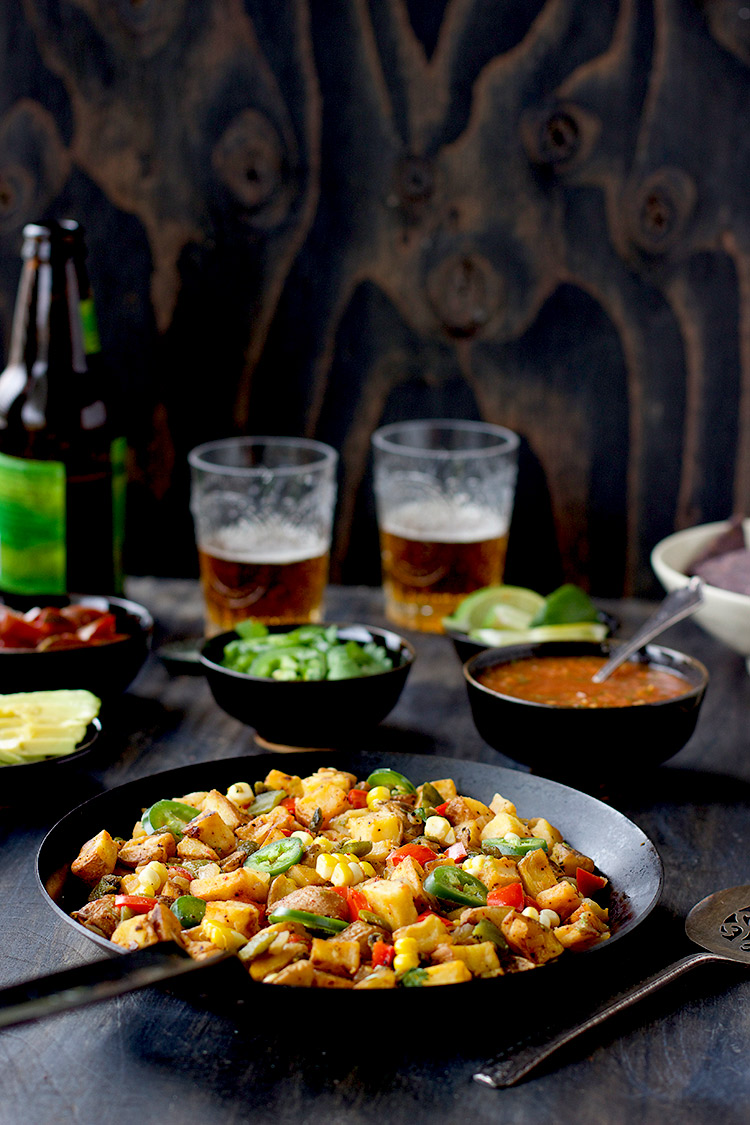Mexican Style Potato Hash