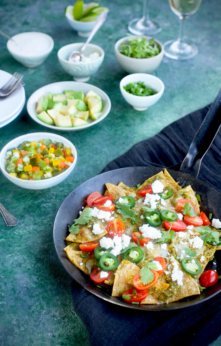 Chilaquiles Salsa Verde