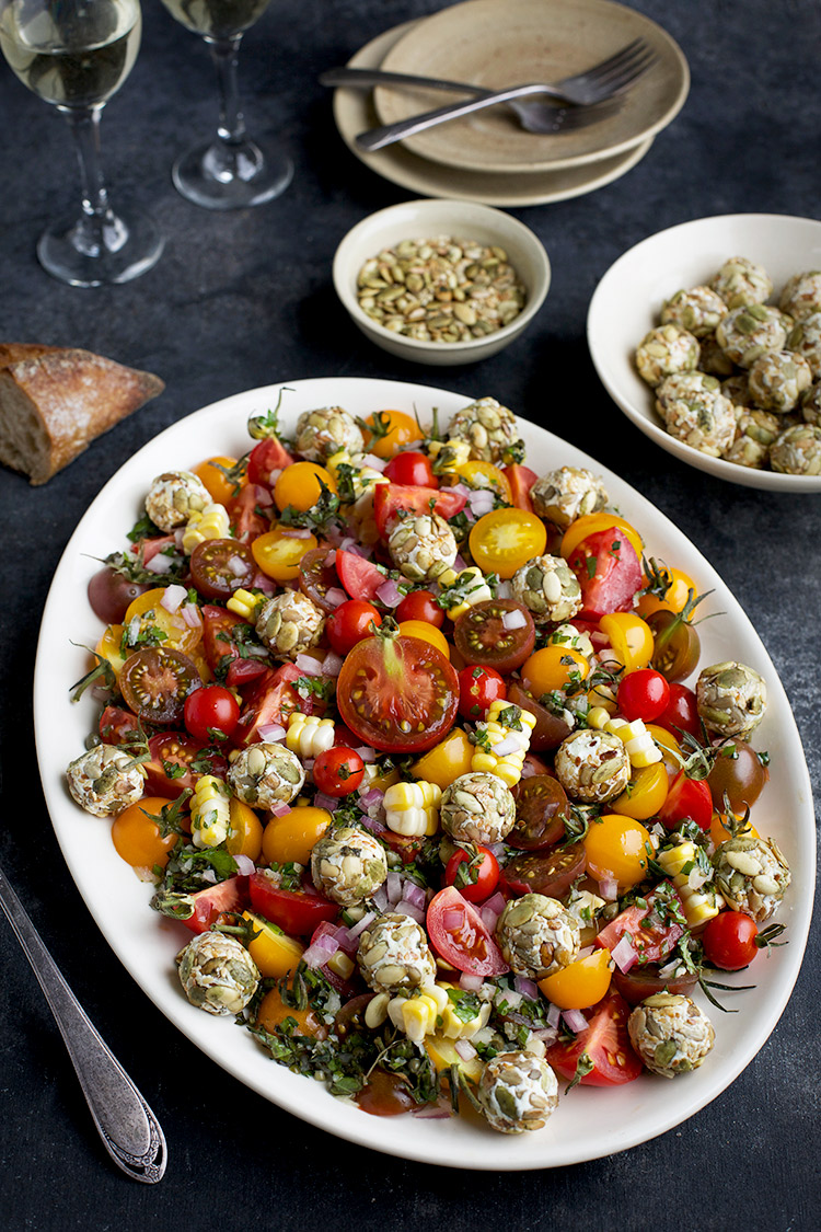 Heirloom Cherry Tomato Salad
