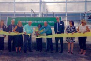 Cal Poly Pomona Ribbon Cutting Ceremony for new greenhouse to raise Tamarixia Radiata.