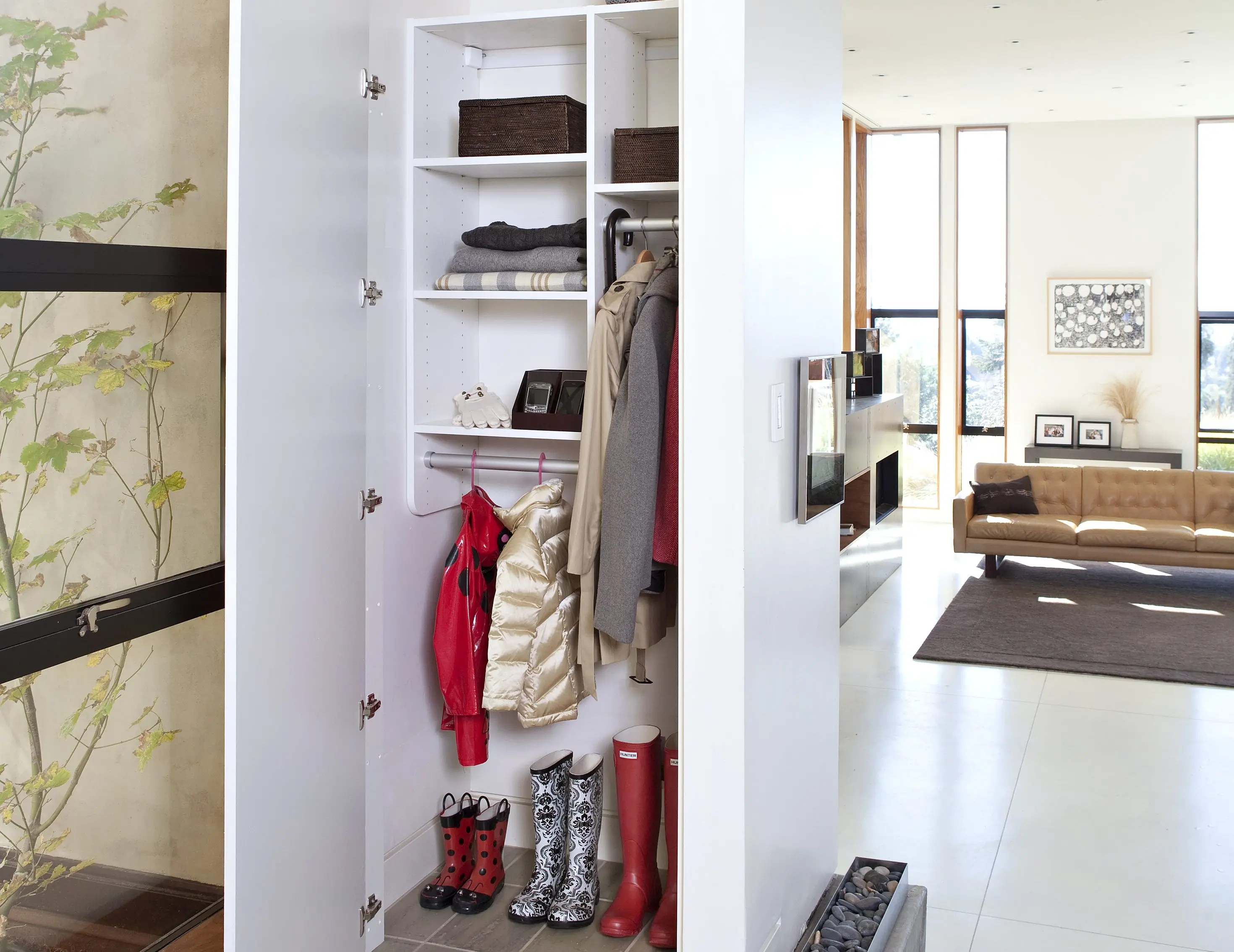 Linen Closet Organizer Systems Linen Cabinets And Hall Closet Organizers By California Closets