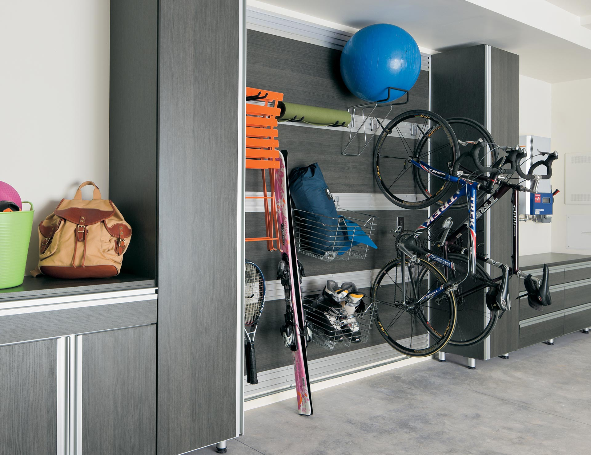 Garage Shelving Design Ideas Garage Storage Cabinets Organization Ideas California Closets