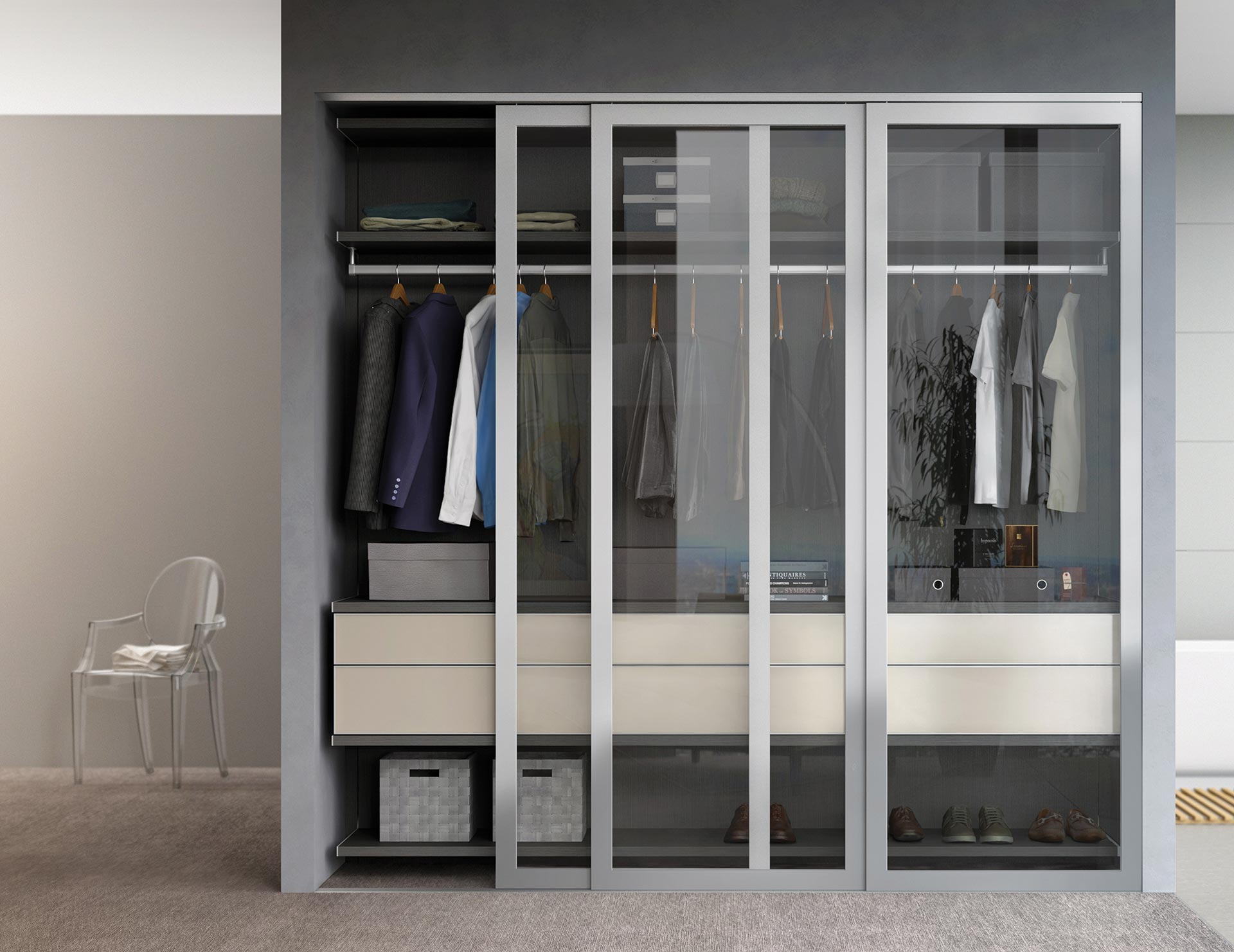 Disenos De Closet Para Cuarto Clóset De Pared California Closets