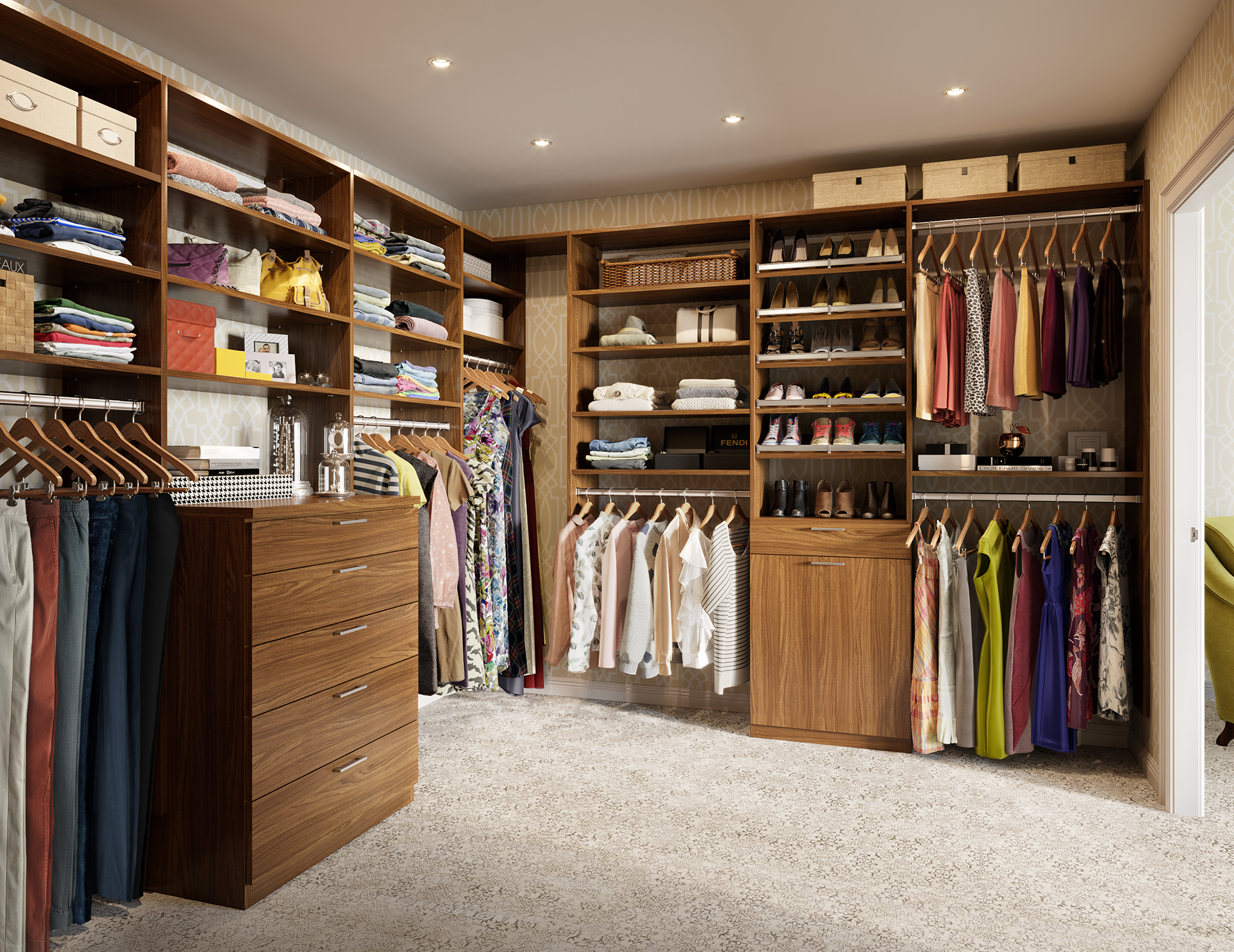 Walkin Closet Cabinets Walk In Closets Designs Ideas By California Closets