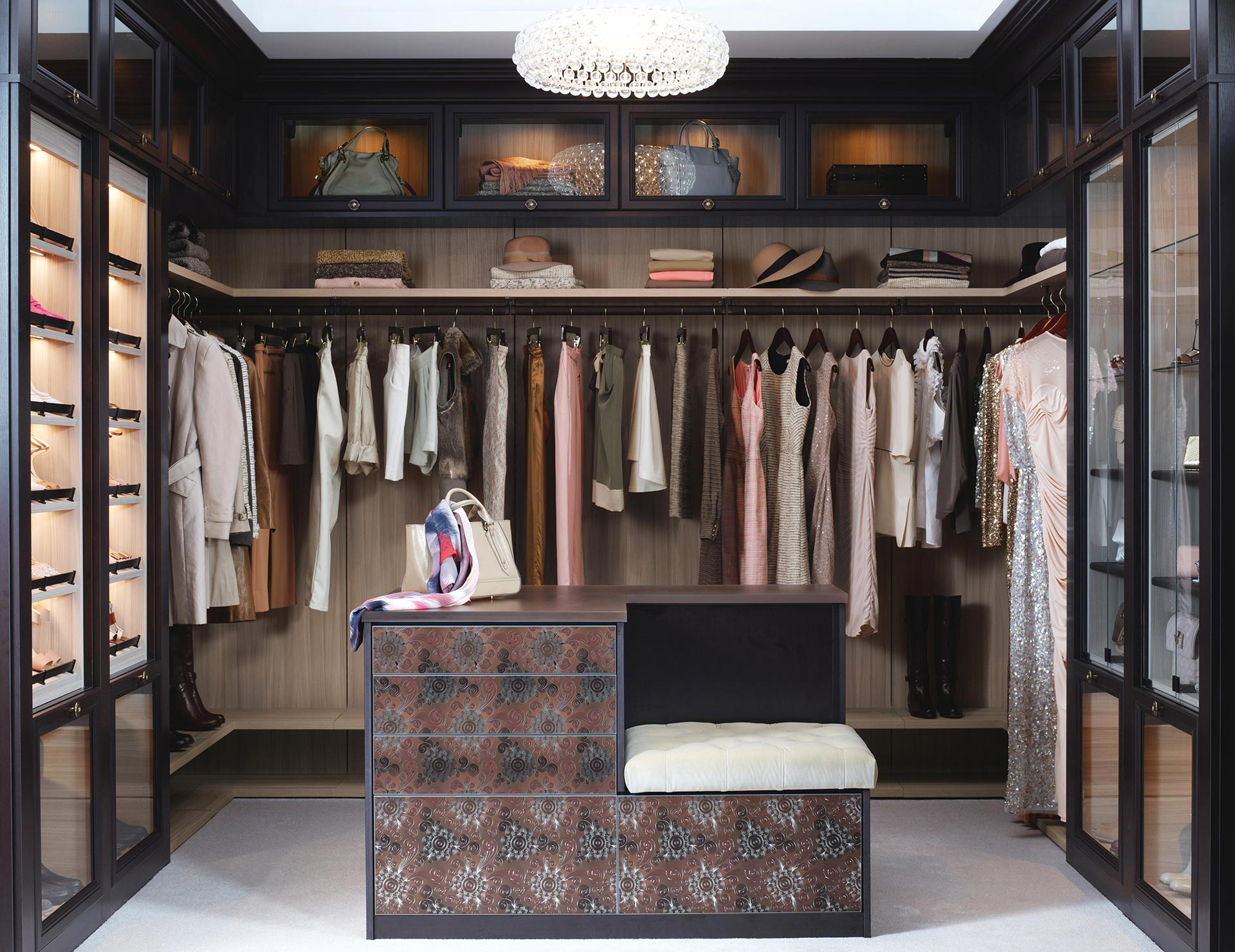 Walk In Closet Organization Ideas Walk In Closets Designs Ideas By California Closets