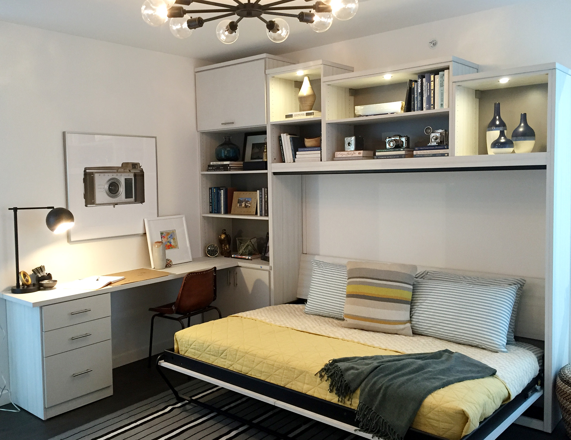 Built In Bed Nook Murphy Beds Wall Bed Designs And Ideas By California Closets