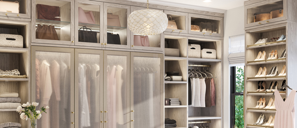 Walk In Closets - Designs  Ideas by California Closets